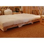 Futon Base: Hagi with 3 futon types - 3 seater