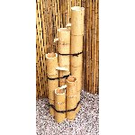Handmade Real Bamboo Water Tower Hanoki-san