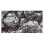 6 and 14mm Silver Grey Granite Chips Tonne - ideal for Zen Gardens or Ground Cover Tonne Rate