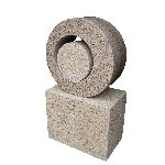 Sol - Solid Granite Sculpture 1m high - Free Delivery UK