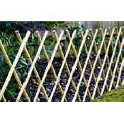 Bamboo X Fence - Folding  FREE DELIVERY MAINLAND UK